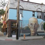 American Gothic mural, Short North Arts District, Columbus, Ohio