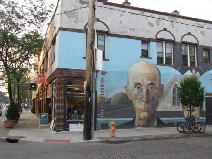 American Gothic Mural Short North Arts District Columbus Ohio