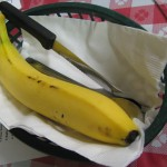 A banana, the accompaniment to Somali meals - Columbus Alt Eats Ethnic Food Tour