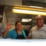 Lidia & Eladeo of Los Potosinos, part of our Taco Truck Food Tour, Columbus Ohio