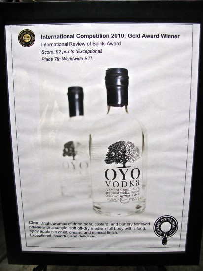 OYO vodka, short north columbus ohio