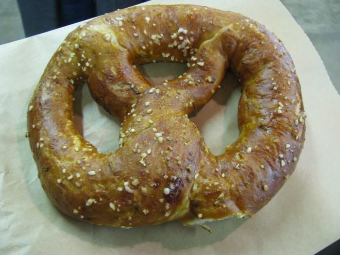 soft pretzels in columbus