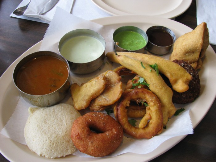coconut chutney, sambar, southern indian food columbus