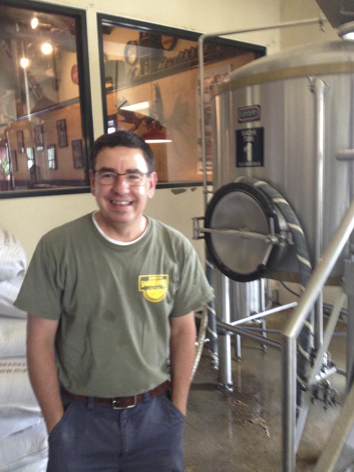 Angelo - brewmaster at Barleys brewing company