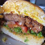 The brunch burger at Ethyl & Tank