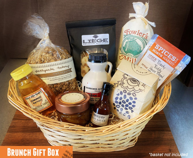 Columbus Food Adventures Brunch Box Gift Box