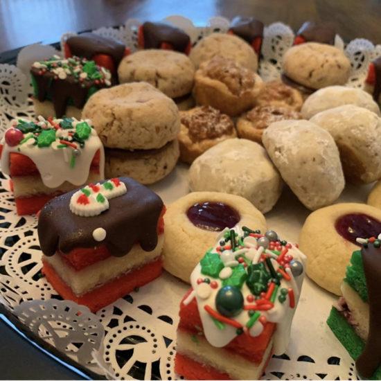 angies rainbow cookies