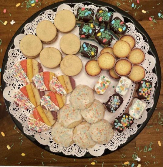 angie's rainbow cookies