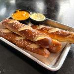 pretzels at north high brewing